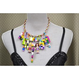Collier LEGO fille